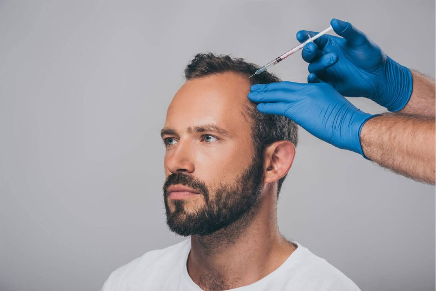 Growth Factor Therapy for Hair in Delhi